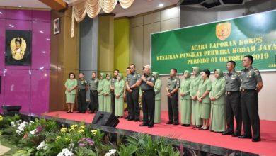 Photo of Dandim 0508 Depok, Agus Isrok Miroj Naik Pangkat