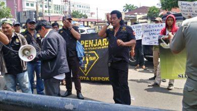 Photo of LSM PENJARA Geruduk Pemkot Depok dan Tuntut Ketegasan Komisi A DPRD Depok