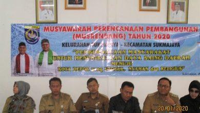Photo of Musrembang Kel. Sukmajaya Dihadiri Wakil Walikota Depok