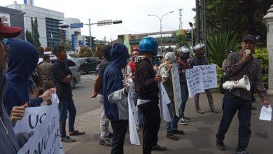 Photo of Massa AMDB Geruduk Dinas Perijinan Depok