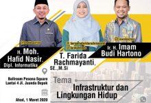 Photo of Tiga Bacalon Walikota Depok Diuji Adu Gagasan Dalam Diskusi Publik